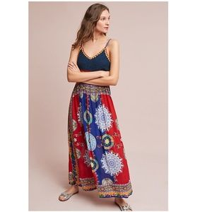 Anthropologie Esmera Crocheted Maxi Dress new